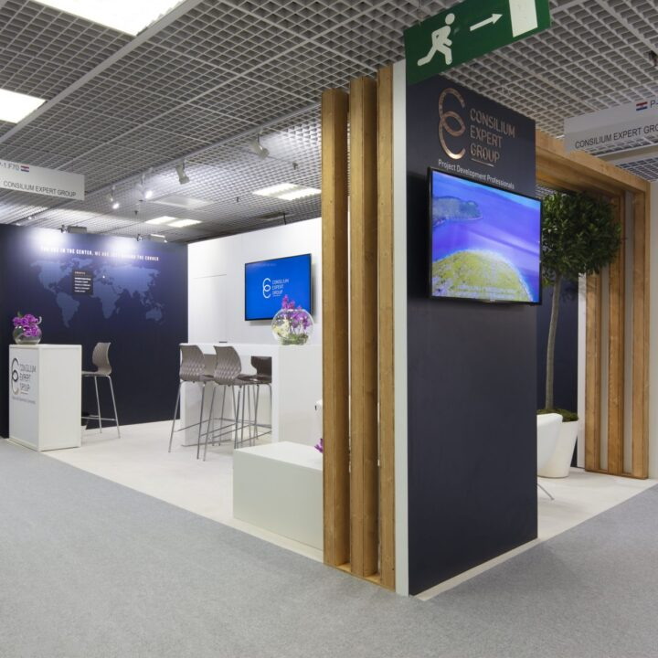 Stand Cannes MIPIM Button Design