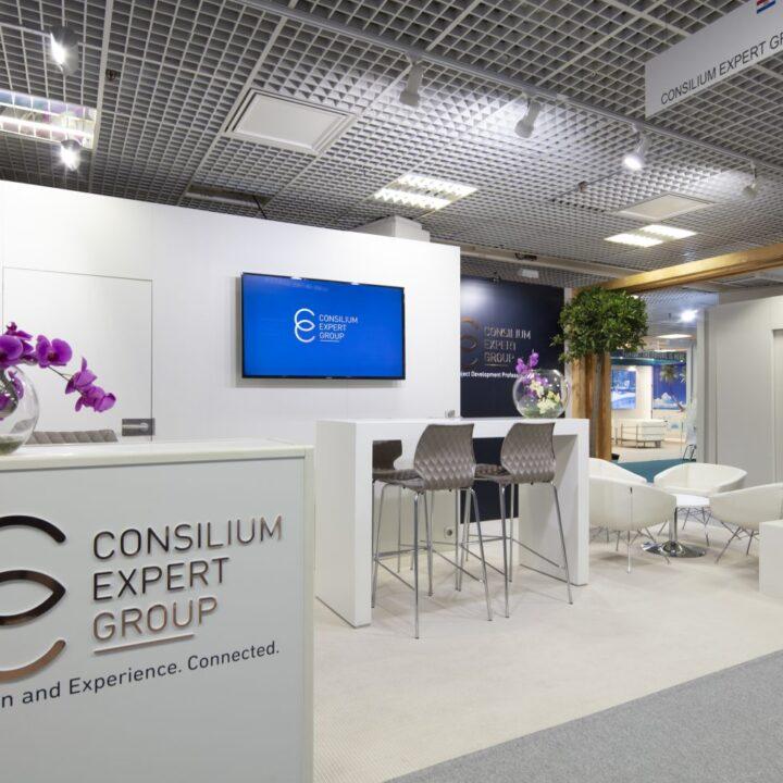 Designer Stand MIPIM Cannes Consilium