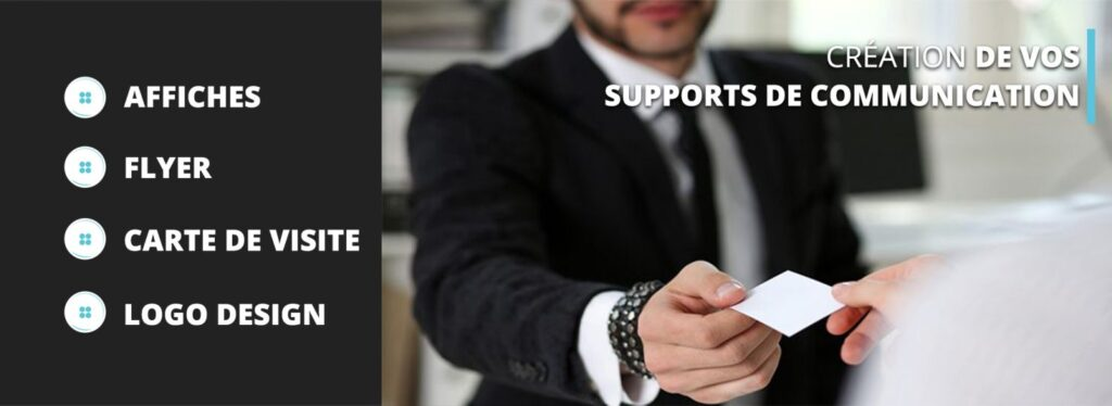 Création Support Communication Button Design Cannes